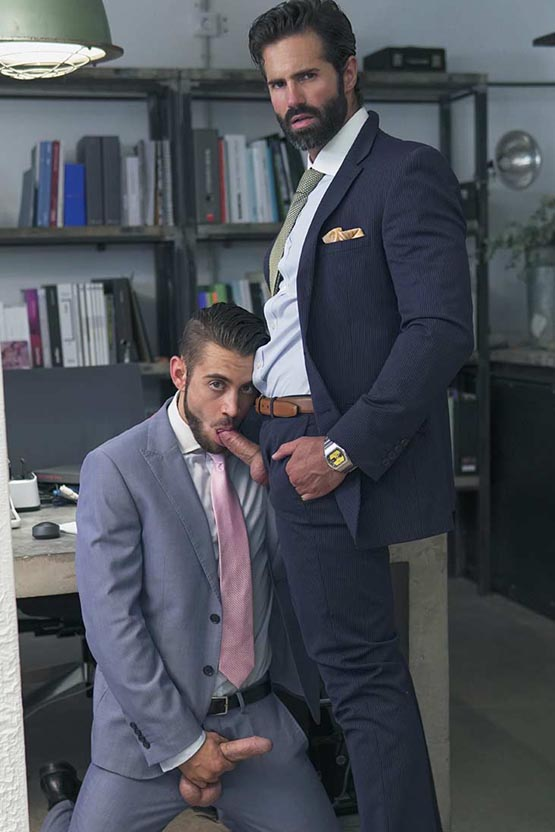 Menatplay: Dante Colle and Dani Robles: The Connoisseur